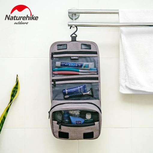 313-trắng-Túi đựng mỹ phẩm cầm tay chống nước NH17X001-S NatureHike-2