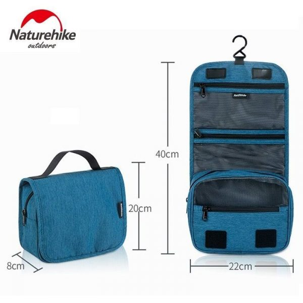 313-trắng-Túi đựng mỹ phẩm cầm tay chống nước NH17X001-S NatureHike-5