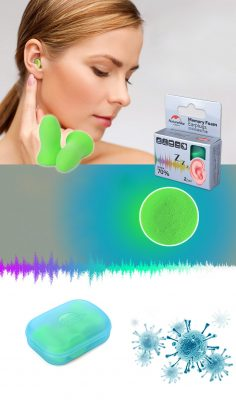316-trắng-nút bịt tai chống ồn khi ngủ-4
