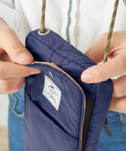 325-trắng-Túi đựng passport có dây đeo NATUREHIKE NH17X010-B-6