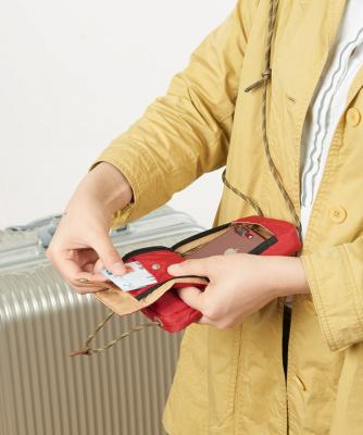 túi đựng passport có dây đeo cổ NatureHike NH17X010-B-7