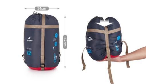 túi ngủ cao cấp NatureHike NH15S001-S LITE300-11