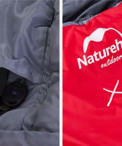 túi ngủ cao cấp NatureHike NH15S001-S LITE300-2