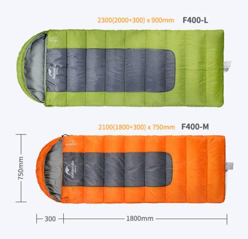 túi ngủ du lịch naturehike NH00F400-D F400-6