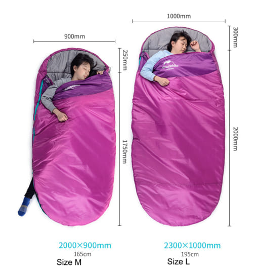 túi ngủ naturehike NH80S002-D PAD 200S-1