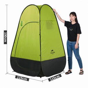 lều dã ngoại, vệ sinh NatureHike NH17Z002-P-1
