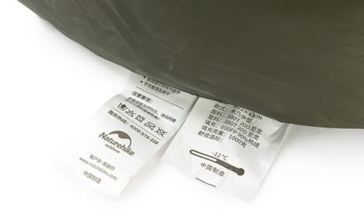 túi ngủ naturehike lông vũ NH15D800-K-11