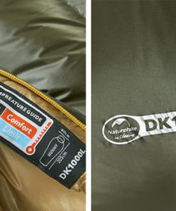 túi ngủ naturehike lông vũ NH15D800-K-3