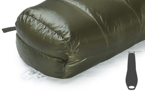 túi ngủ naturehike lông vũ NH15D800-K-5