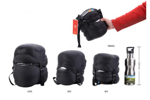 túi ngủ naturehike lông vũ NH15D800-K-7