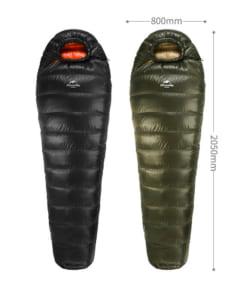túi ngủ naturehike lông vũ NH15D800-K-9