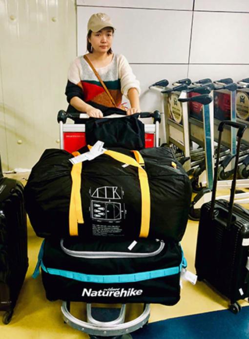 vali kéo du lịch gấp gọn NatureHike NH18X027-L-3