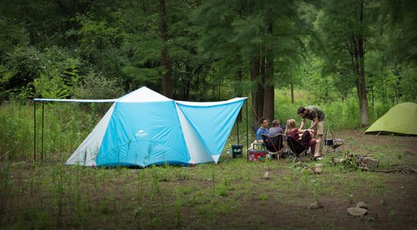 Lều du lịch tự bung
