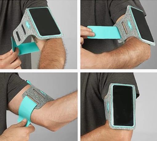 Đeo bắp tay đựng điện thoại