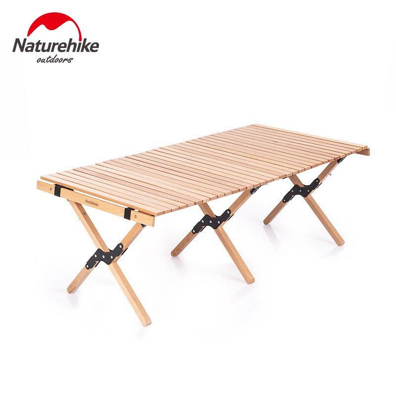 Bàn gấp gỗ Naturehike NH19JJ009