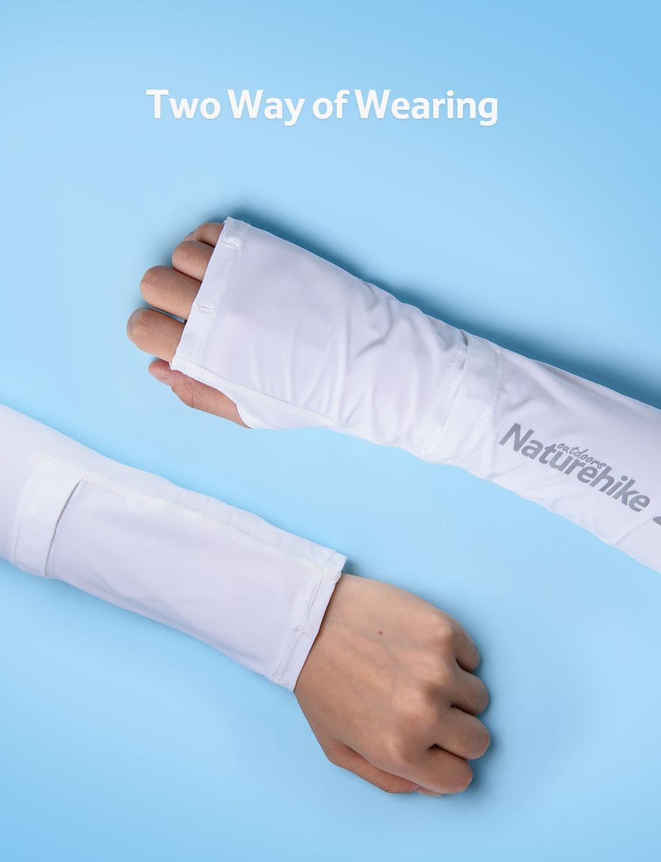 Công dụng của găng tay chống nắng xỏ ngón NatureHike NH19X004-T