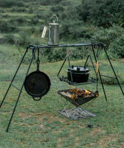 giá để đồ nấu ăn Glamping Naturehike NH20SK012