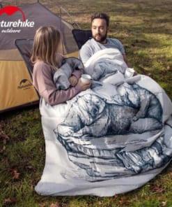 túi ngủ đôi gấu NH19S016-D