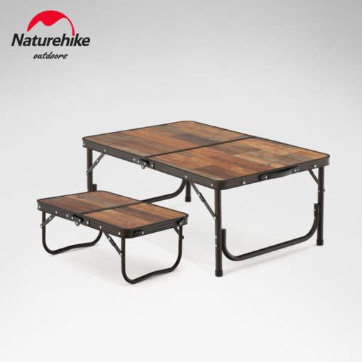 Bàn gấp vân gỗ Naturehike NH20JJ028