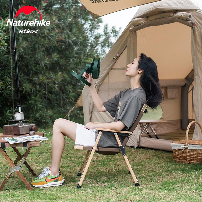 Quạt đa năng treo lều cắm trại Naturehike NH21ZM003