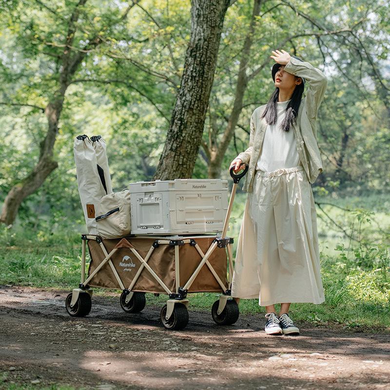 Xe kéo đồ dùng cắm trại Naturehike NH20PJ009